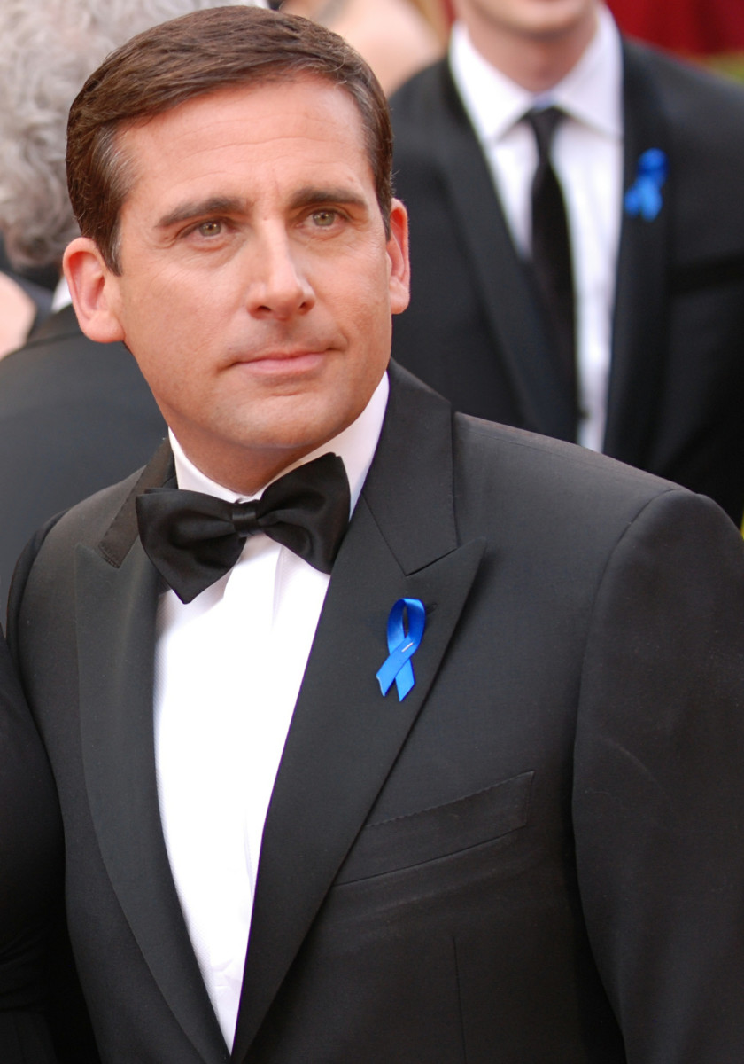 Steve Carrell played the boss at Dunder Miffling in The Office.
