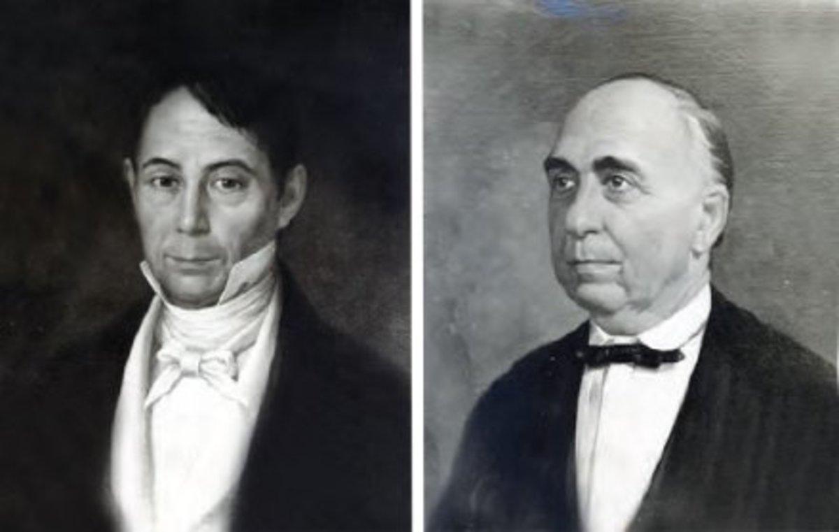 Founding partners of the Casa Roxas; Domingo Roxas and Antonio de Ayala. Photos taken from Ayala.com.ph.