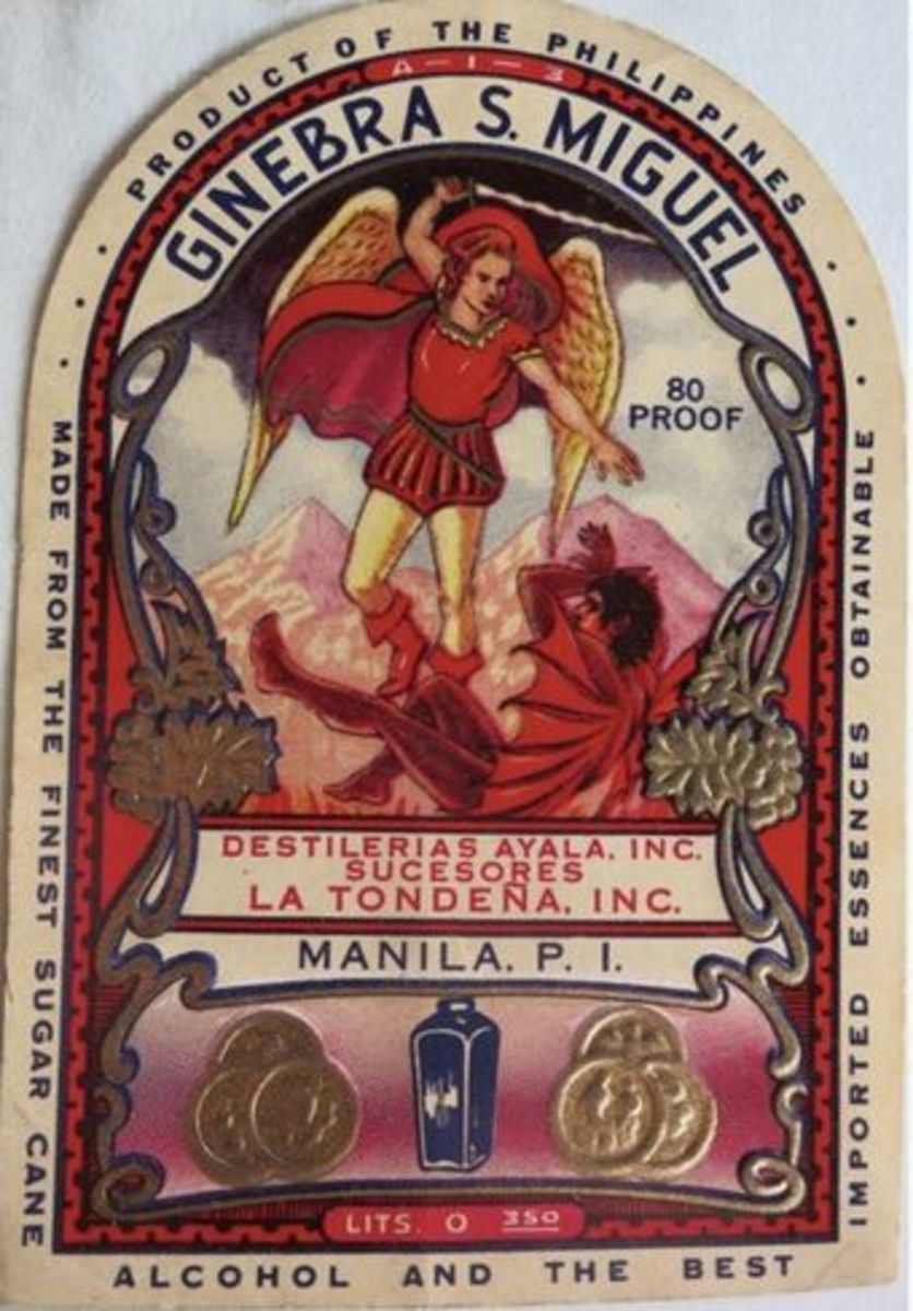 The Story Behind Ginebra San Miguel's Famous Bottle Label