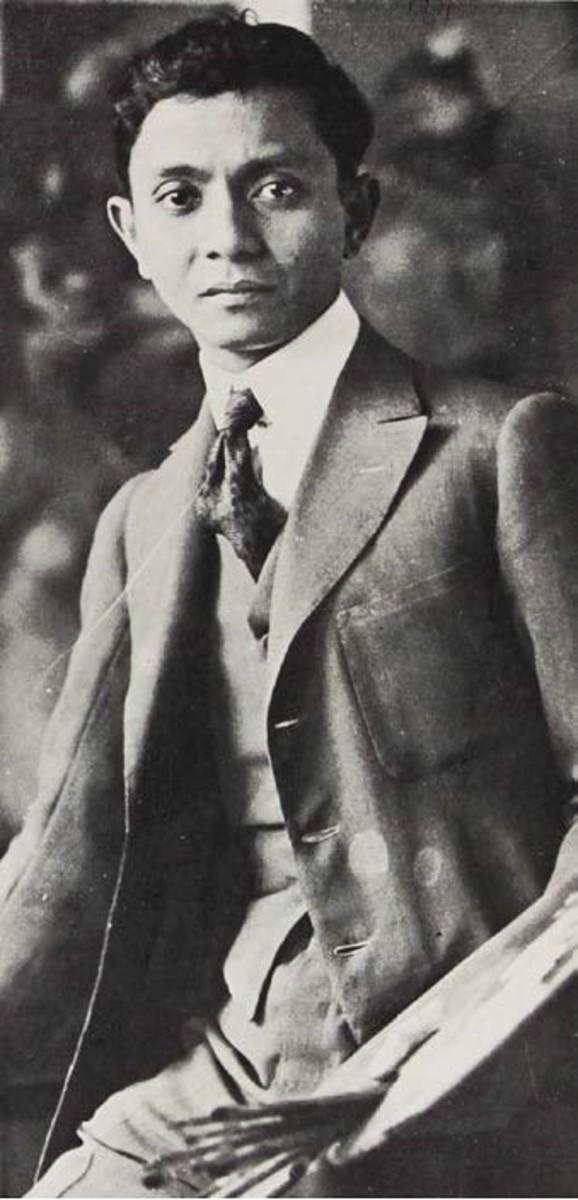 The young Fernando Amorsolo. Taken from http://www.fernandocamorsolo.com