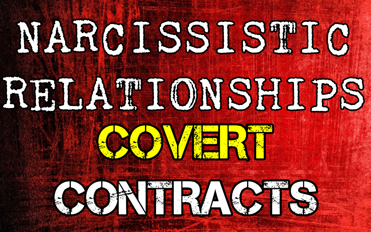 Narcissistic Relationships: Covert Contracts
