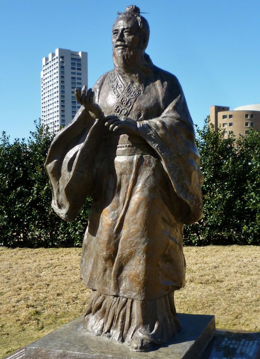 Confucius Sculpture