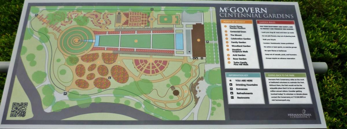 Gardens Map Design