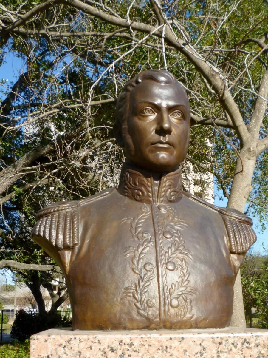 Libertador Jose de San Martin Sculpture