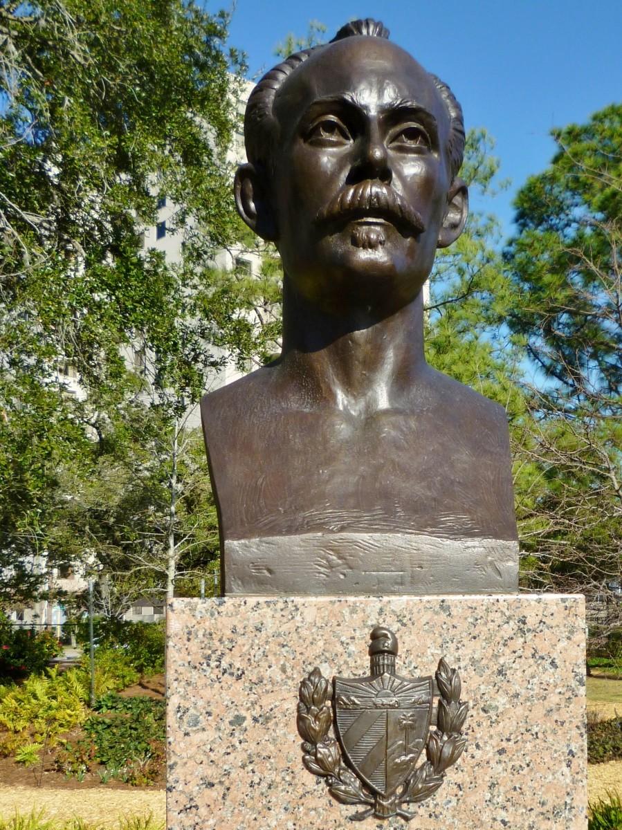 Jose Marti Sculpture