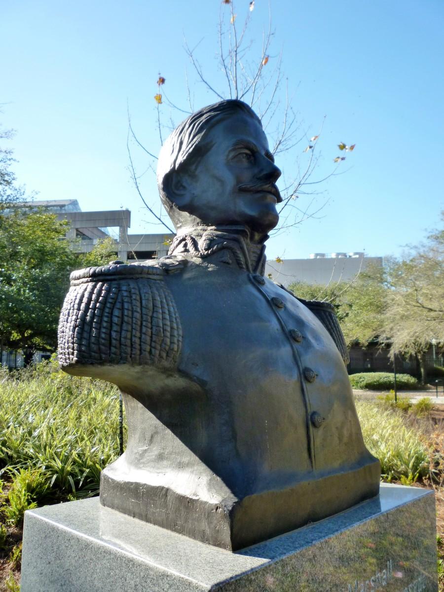 Field Marshall Ramon Castilla y Marquesado Sculpture