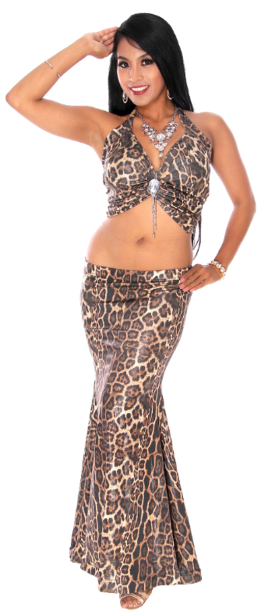 Animal prints are easy to source and look exotic