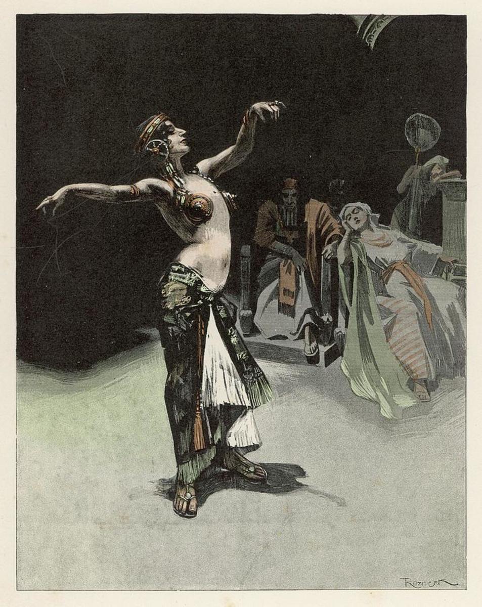 Salome dancing before Heord