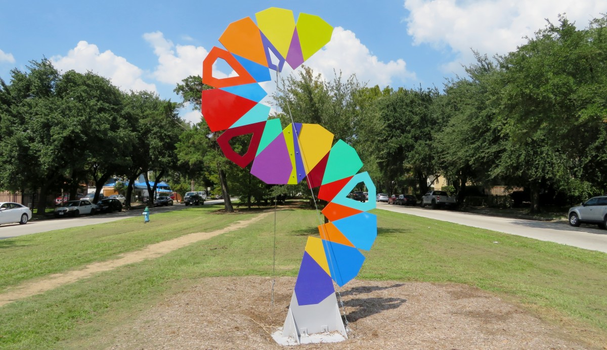 Houston Heights Sculpture Show: