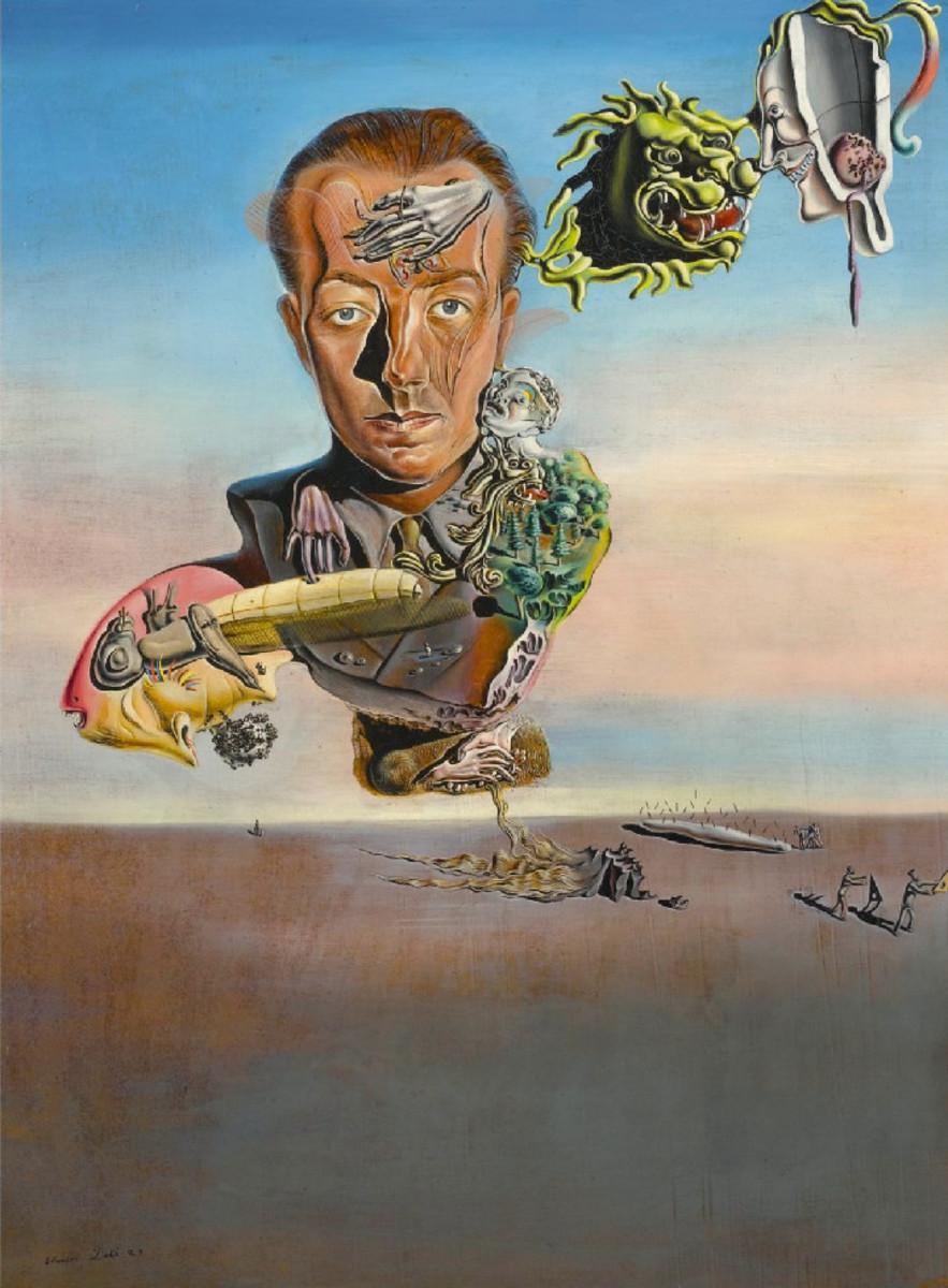 Salvador Dali- Portrait de Paul Eluard