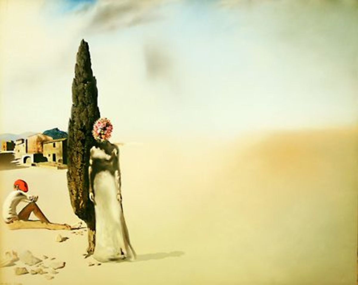 Salvador Dali-Printemps Necrophilique