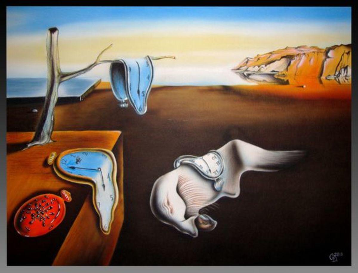 Salvador Dali- The Persistence of Memory