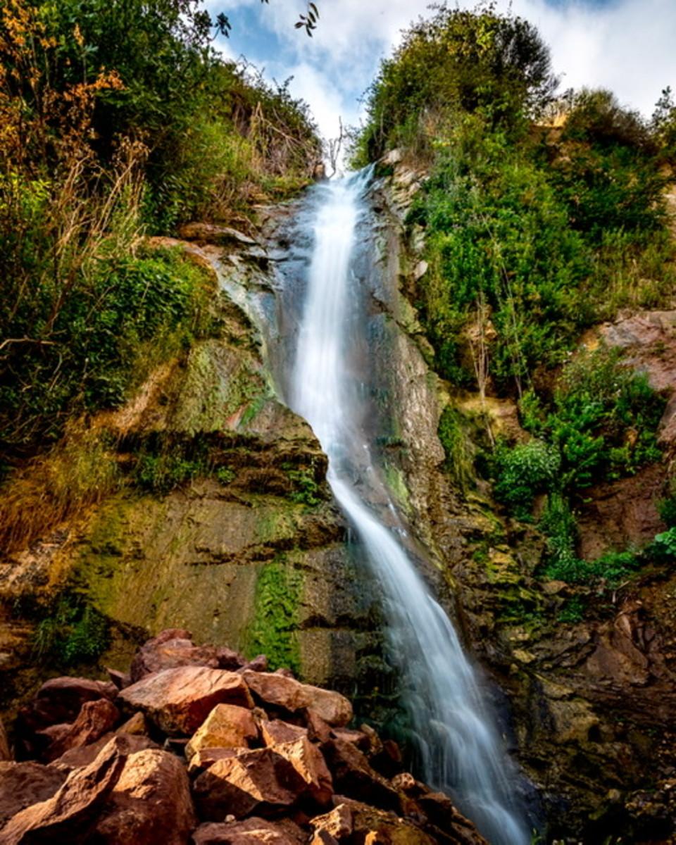 Bsharre waterfall - photo by Rudy Aoun