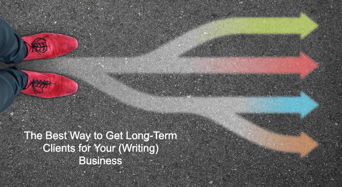 The Best Way to Get Long-Term Clients for Your (Writing) Business