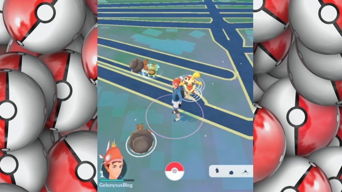 Pokémon Go: Day 2 - Leveling Up Fast - Gelonysus Pokémon Journal