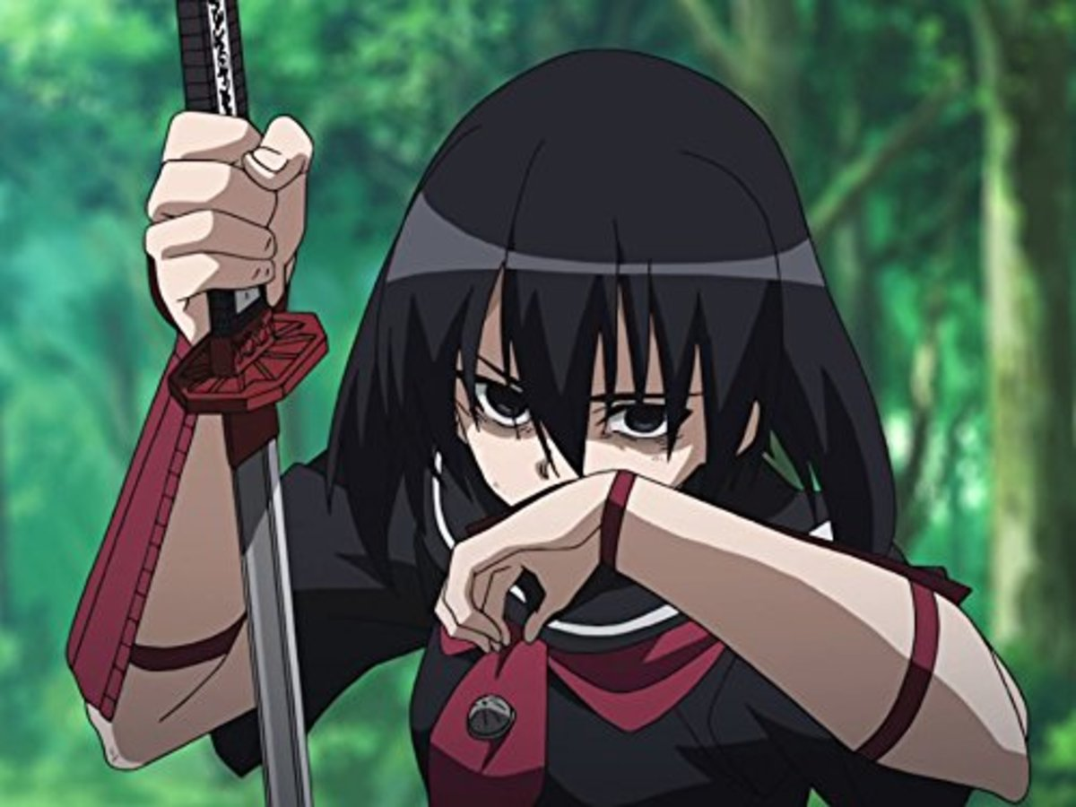 Kurome from Akame Ga Kill!