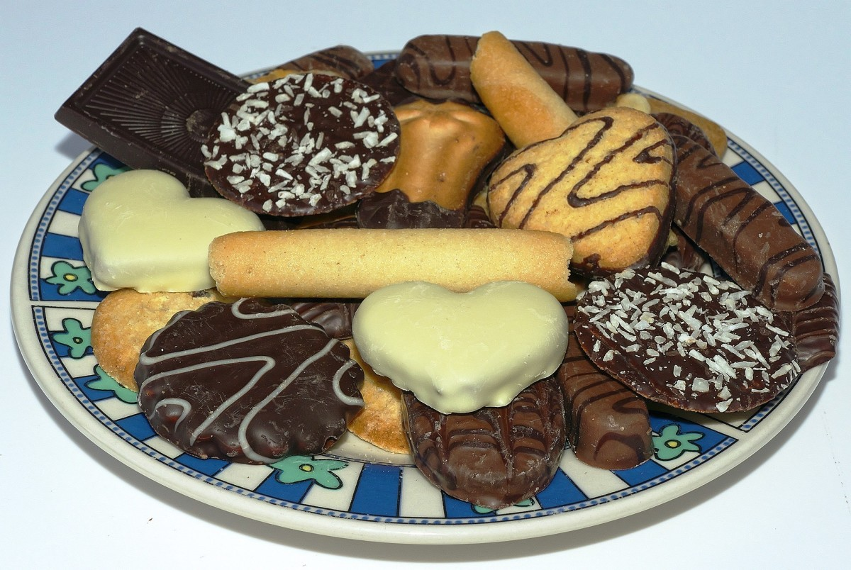 Tray of cookies (or are they biscuits?)