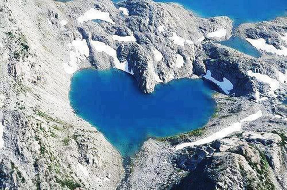 Shimshal lake, Hunza nagar district