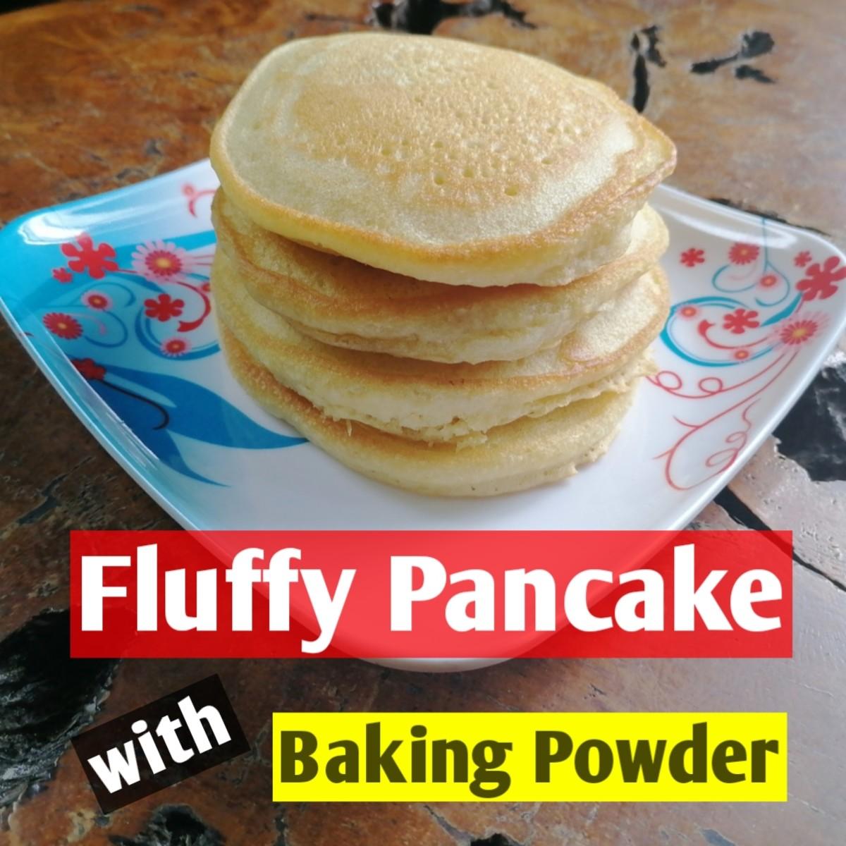 Fluffy Pancake with Baking Powder