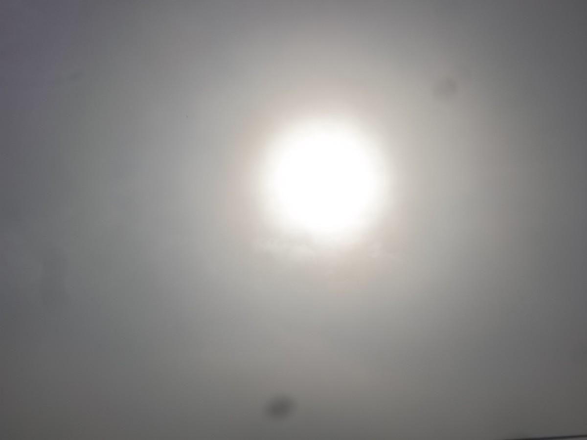 The Sun illuminating the earth with energy
