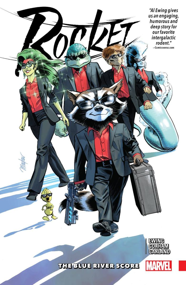 Rocket: The Blue River Score - A Comic Book Review