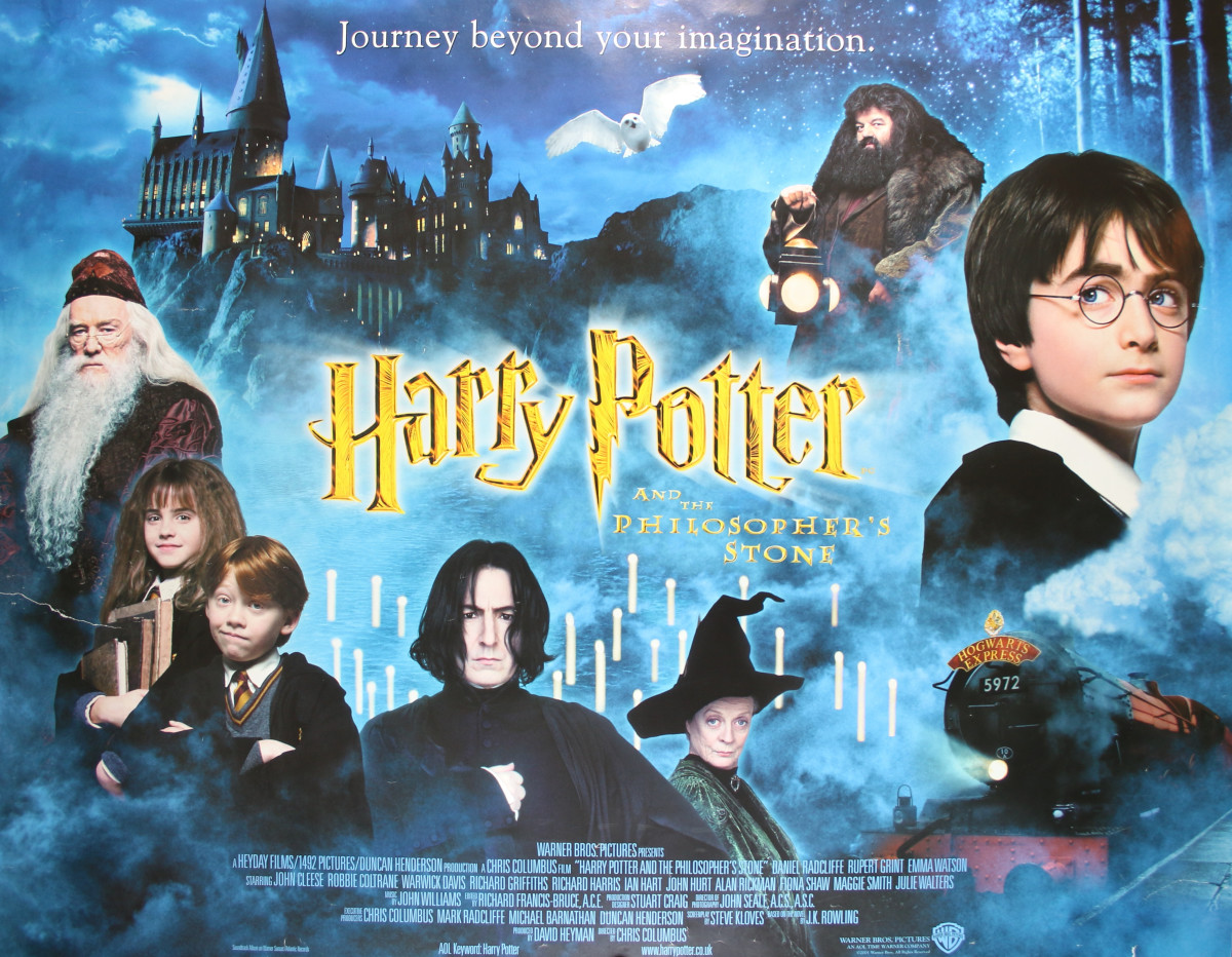 Harry Potter has three major characters while A Wizard of Earthsea has one