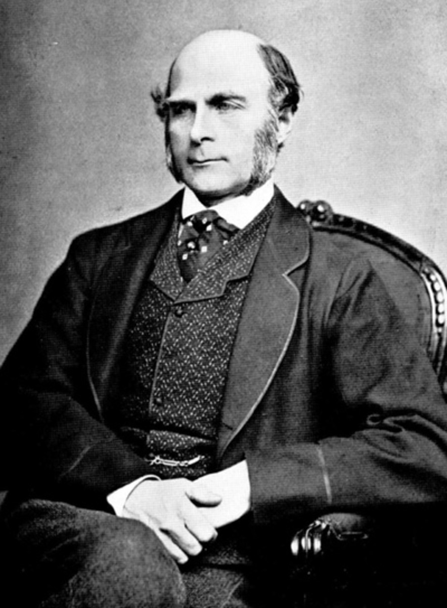 Francis  Galton (one of the founder of Eugenics)