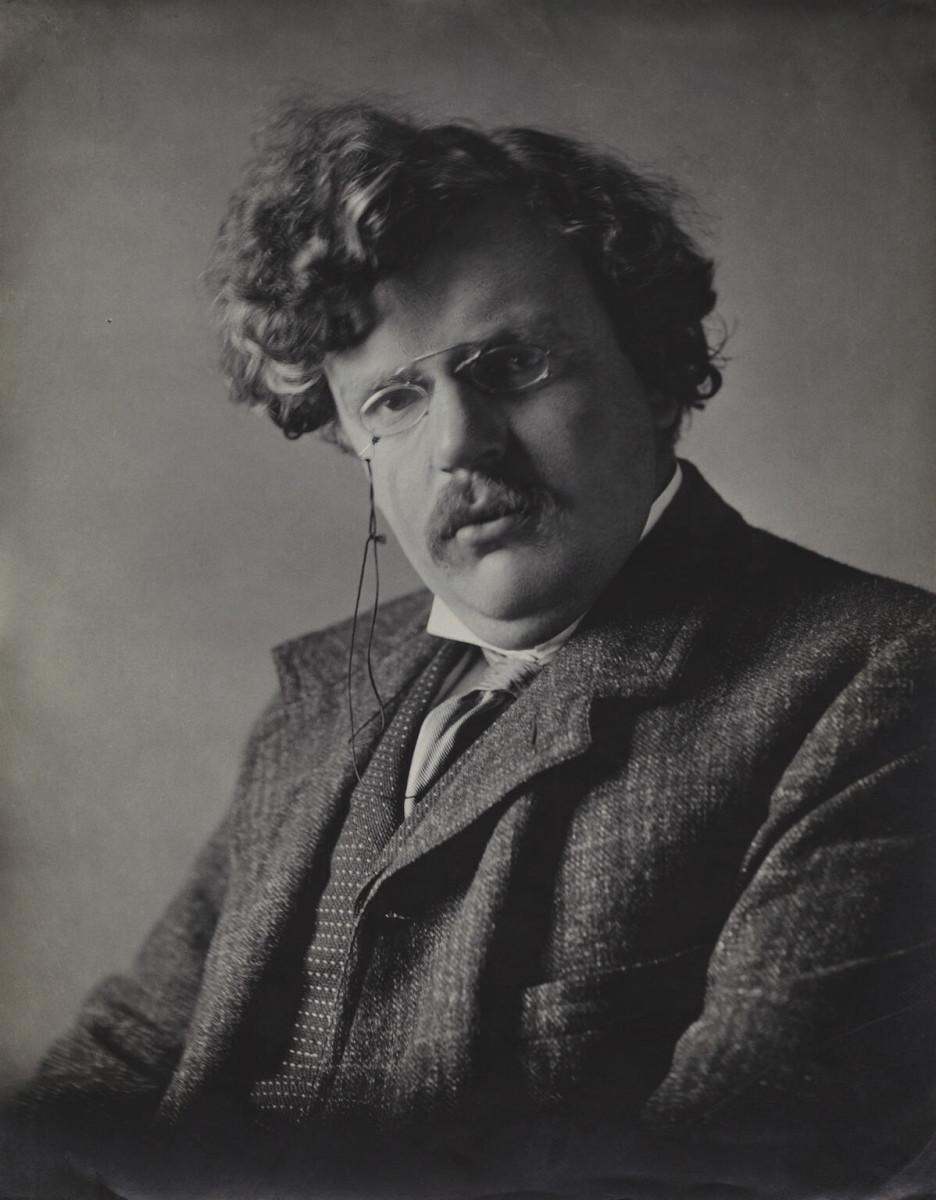 Gilbert Chesterton (one of Eugenics opposer)