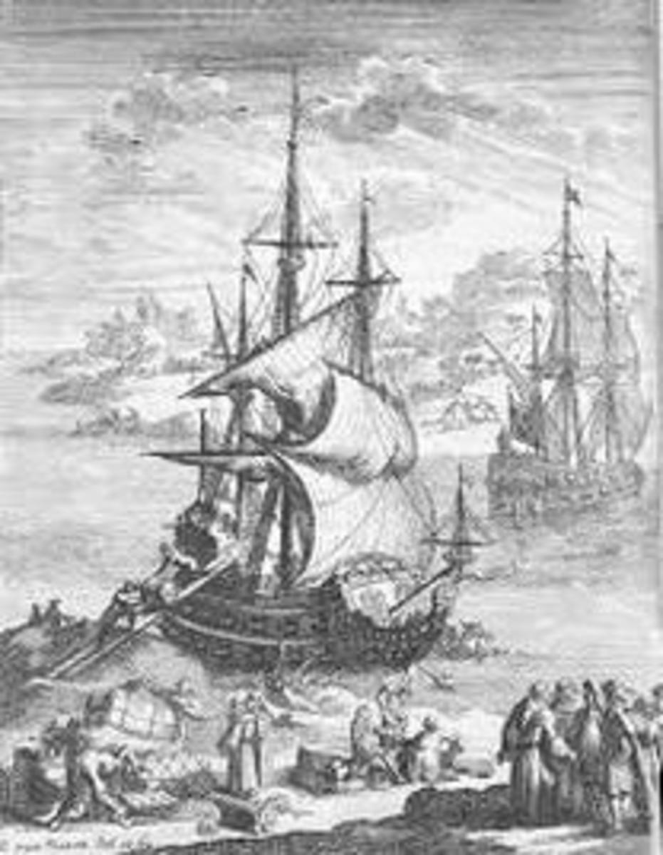Ship to New France
