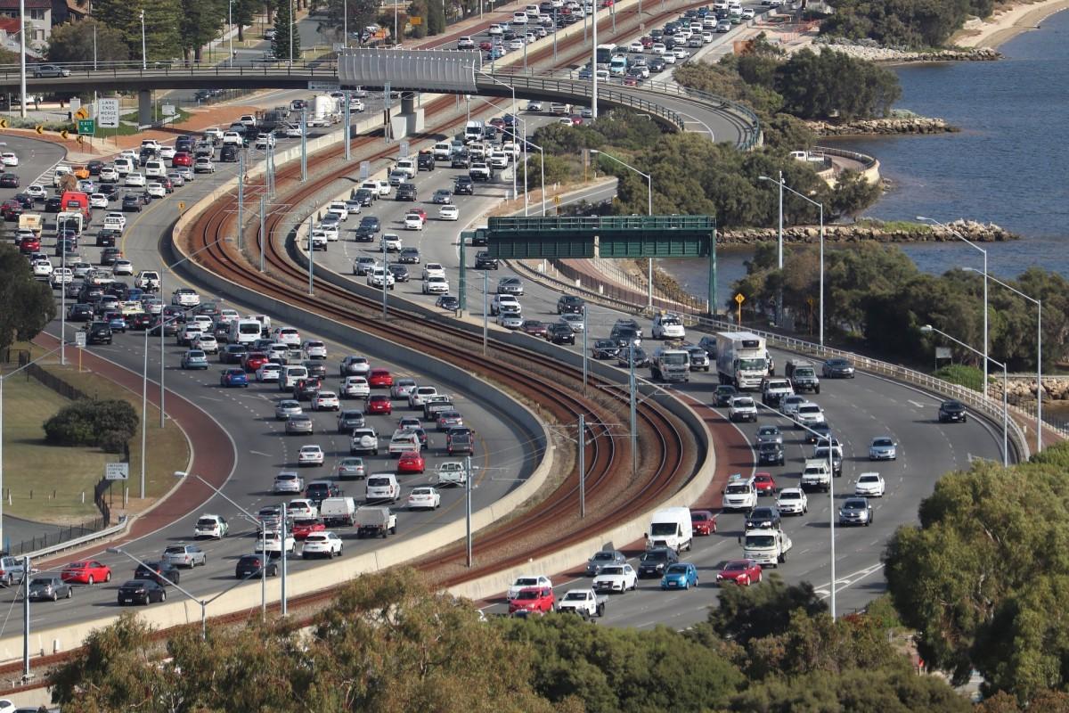 A Congested Traffics Road
