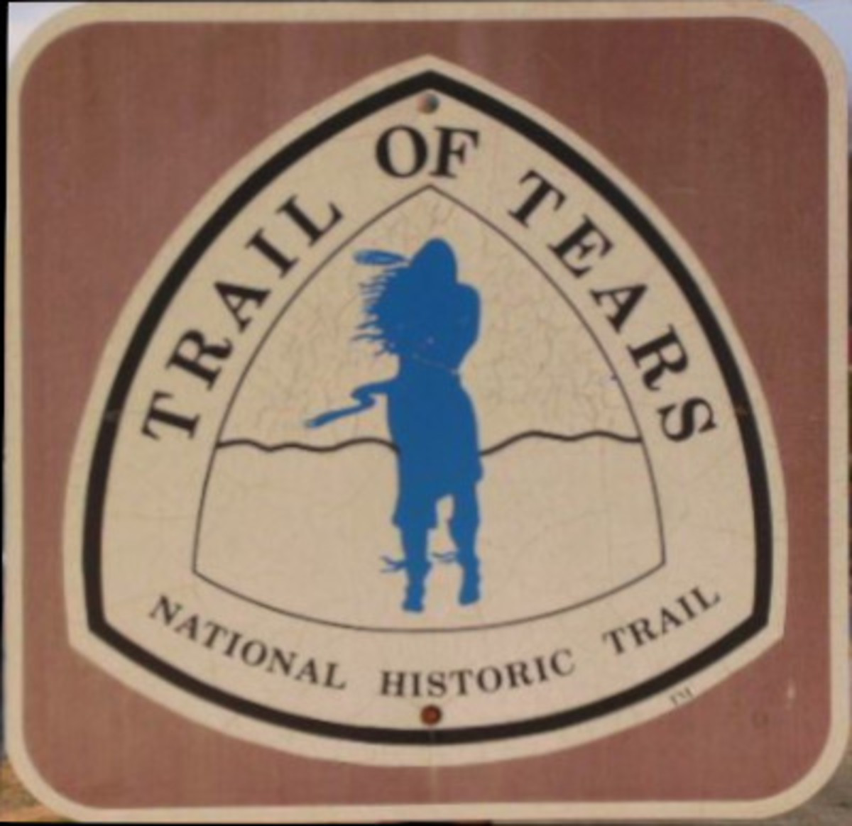 Trail Marker -- Trail of Tears National Historic Trail