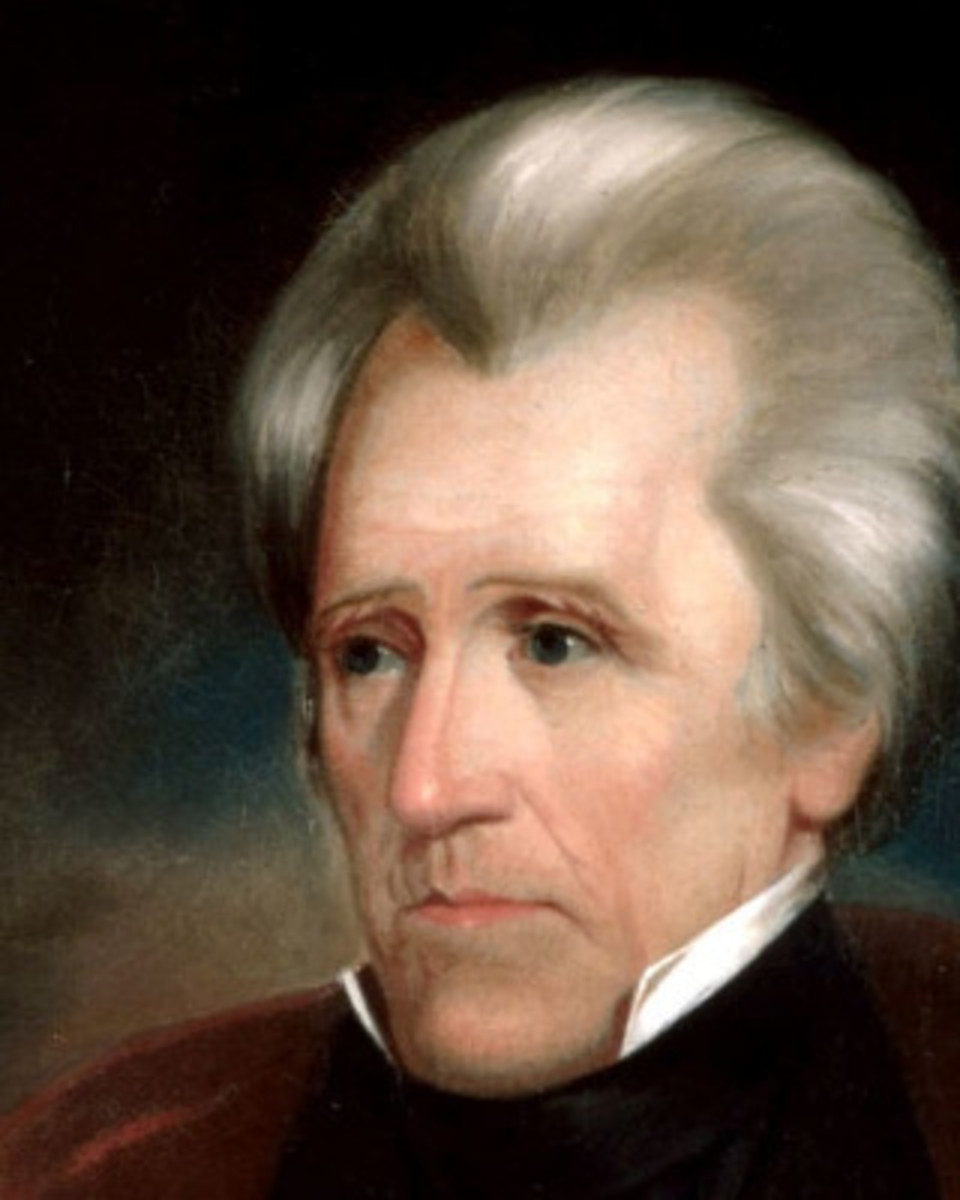 Portrait of Andrew Jackson by Thomas Sully hung in President Trump's Oval Office. Strangely, It also was also chosen to hang in the Oval Office of Lyndon B. Johnson's, Ronald Reagan, George H. W. Bush and Bill Clinton.