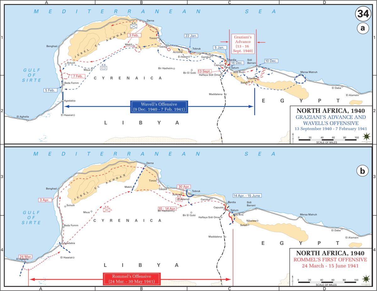 The North Africa Campaign Under General Archibald Wavell