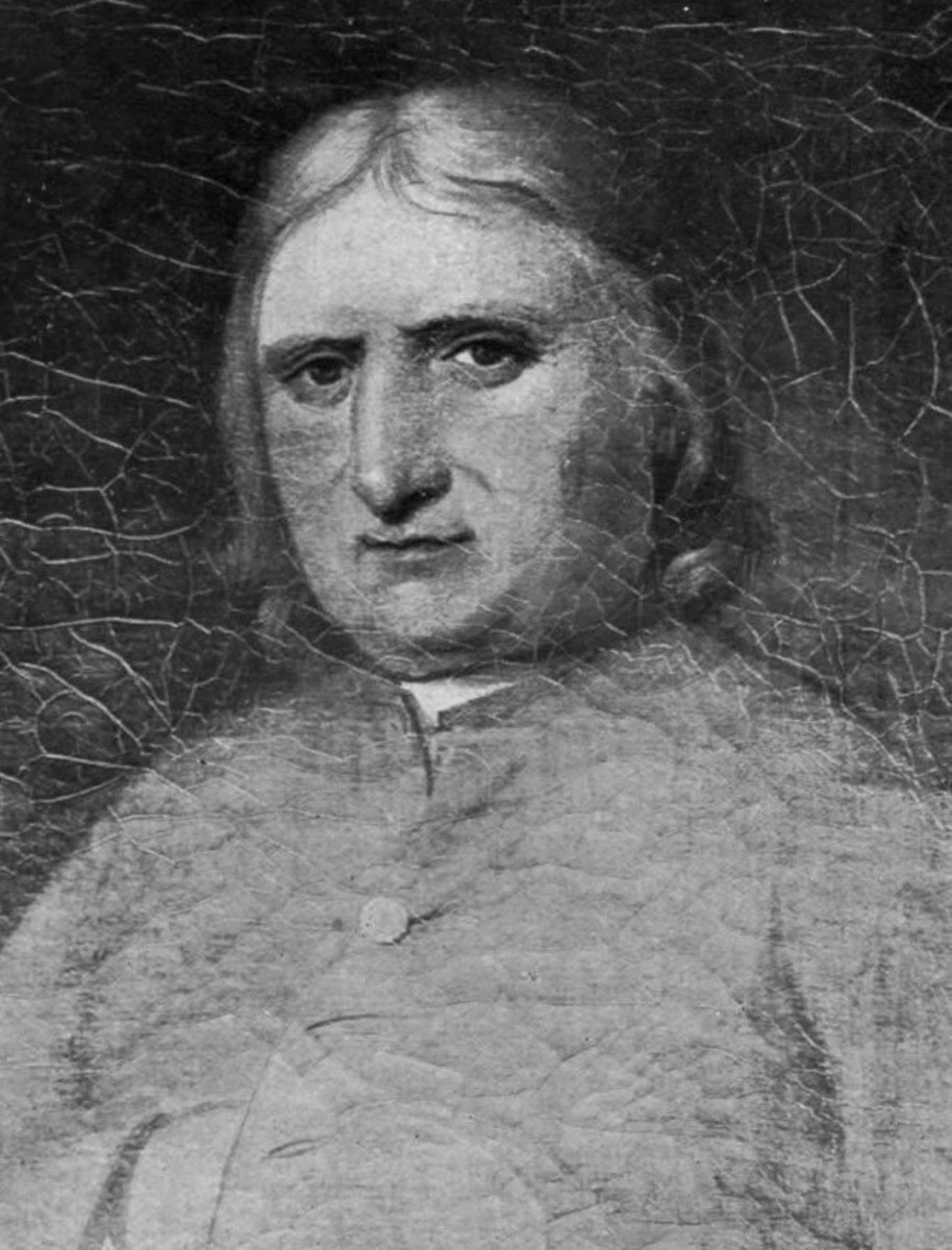 Quaker leader George Fox was a target of Muggleton's vitriol.