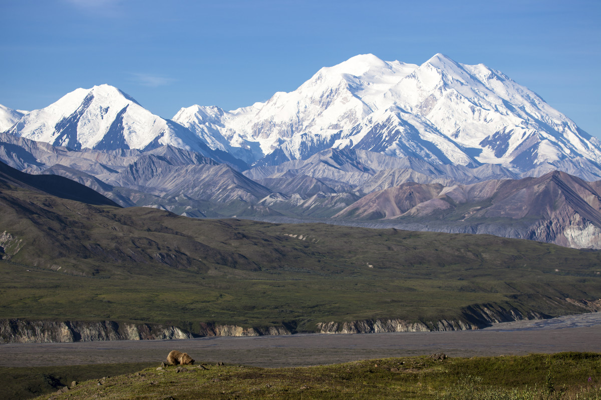 Mt. McKinley (now Mt. Denali)