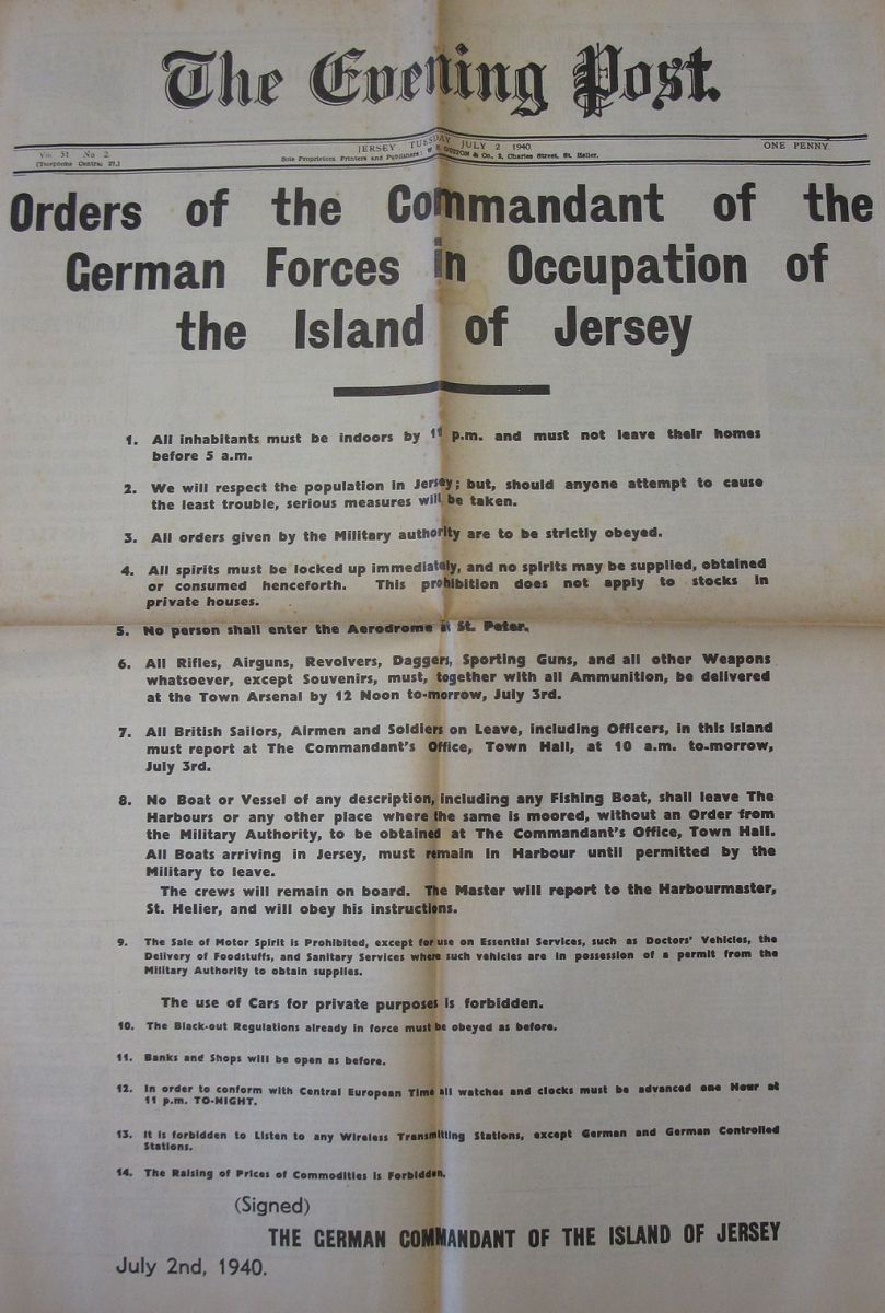 ww-ii-occupation-of-the-channel-islands-by-germany-the-only-de-cure-area-of-the-uk-occupied