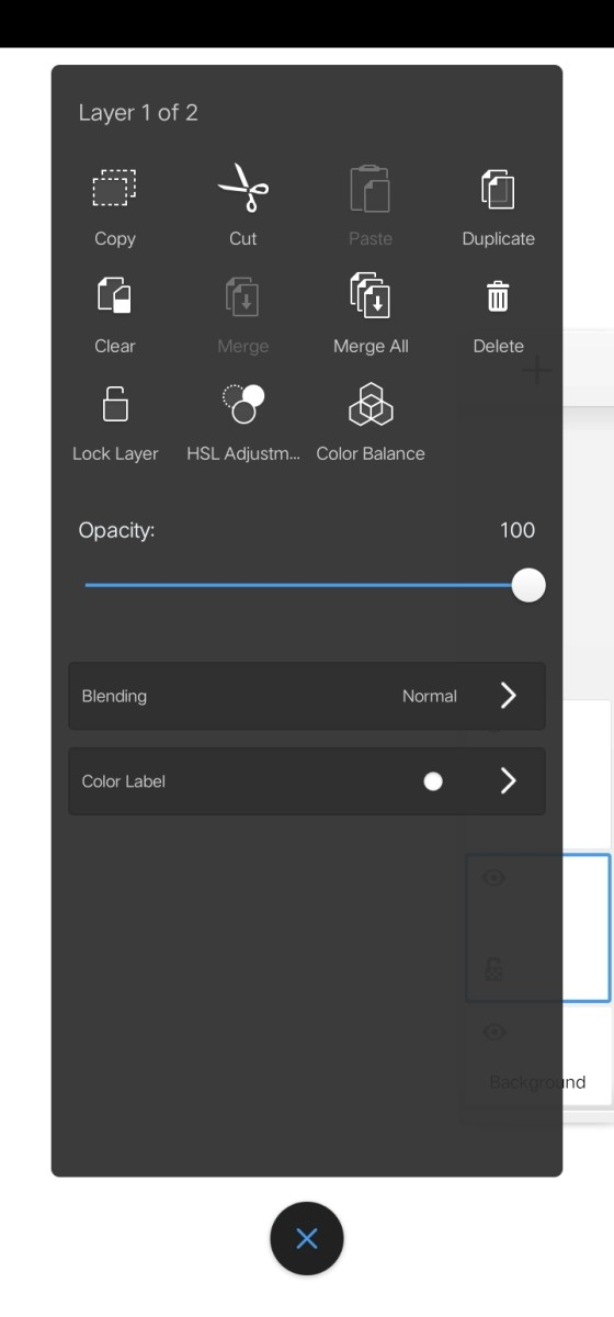 You can make adjustments in your layer here if you click the layer you want to adjust.