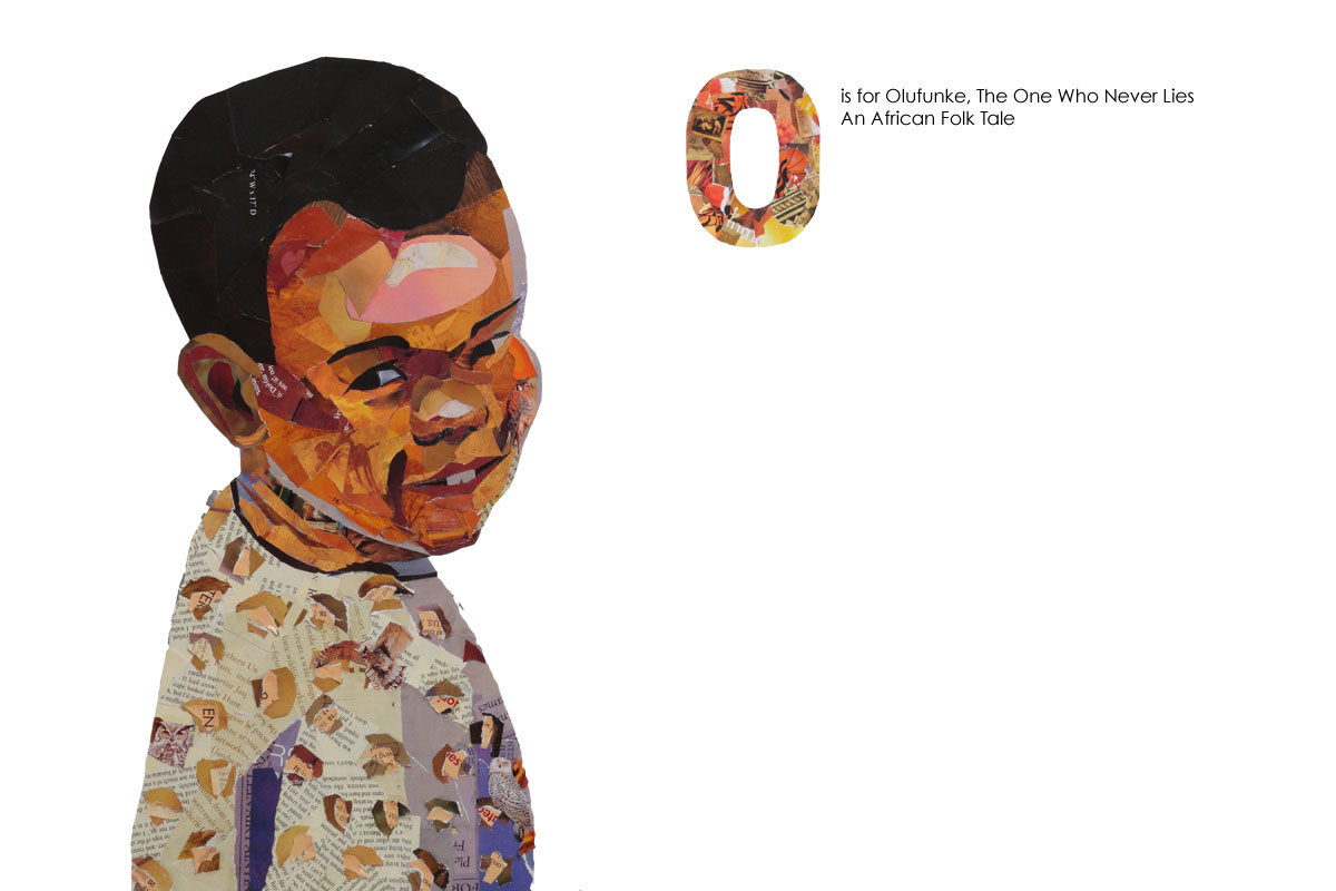 Olufunke in collage illustration