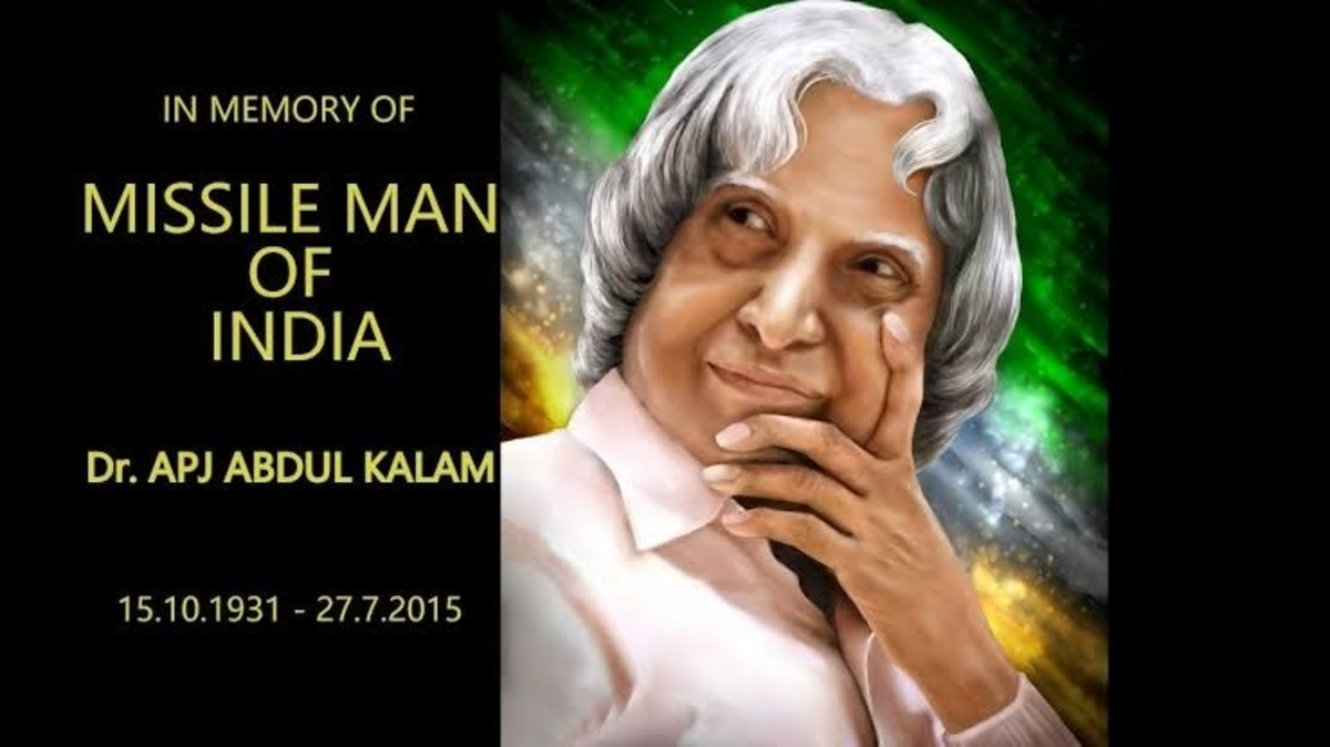 Former President, Missile Man, Bharat Ratna, Best Teacher, Author, and many more terms to describe the beloved A P J Abdul Kalam