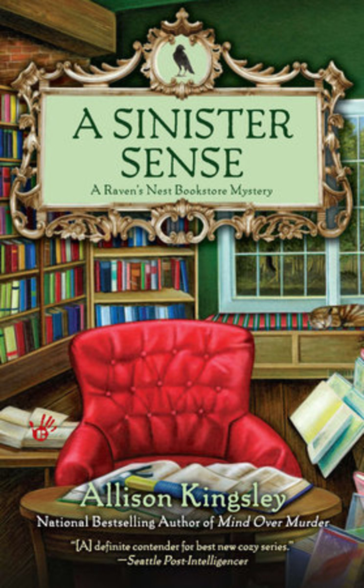 Book Review: A Sinister Sense by Allison Kingsley