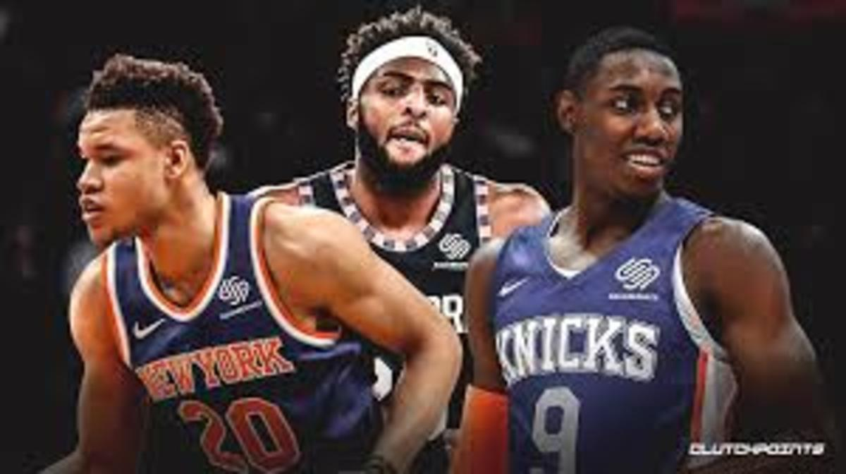 The future is in RJ Barrett's, Kevin Knox, and Mitchell Robinson's hands.