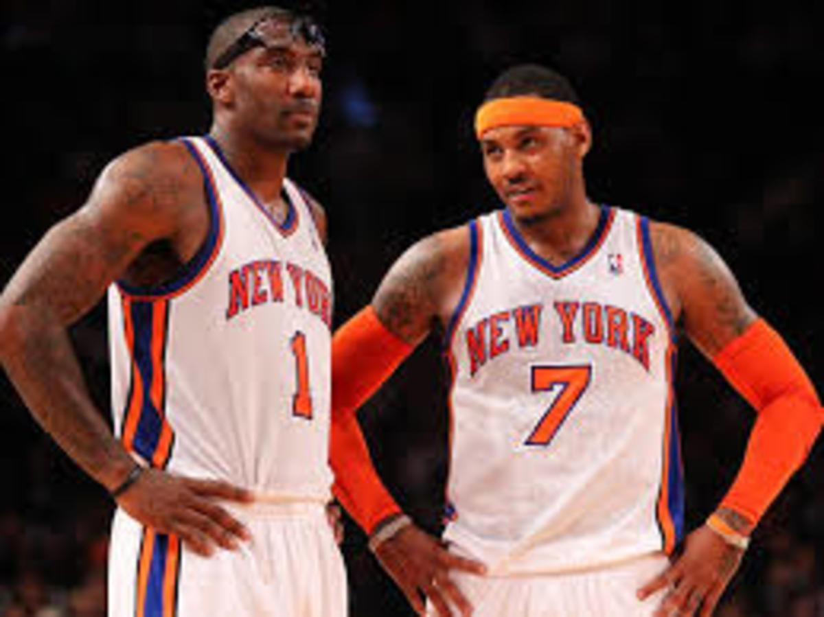 Carmelo and Amare was a very underrated duo during their time together on the Knicks.