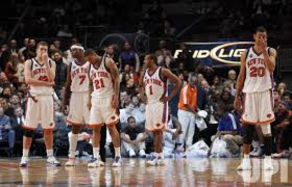 A very well forgotten Knicks era with players such as David Lee, Al Harrington, and others.