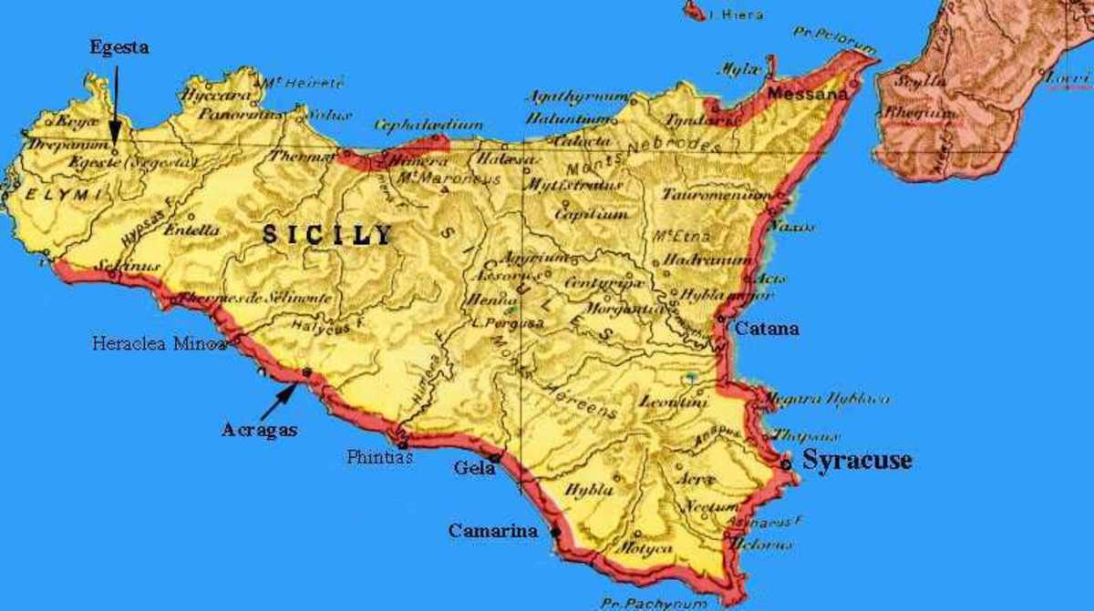 The Island of Sicily in Italy Was Part of the Muslim World for Over 200 Years