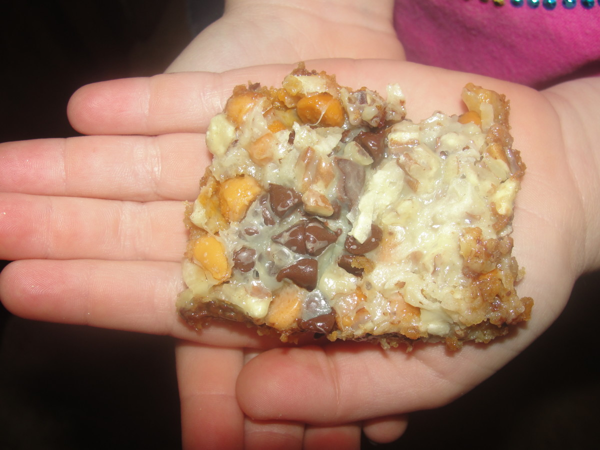 Sedimentary Seven Layer Bar Cookies