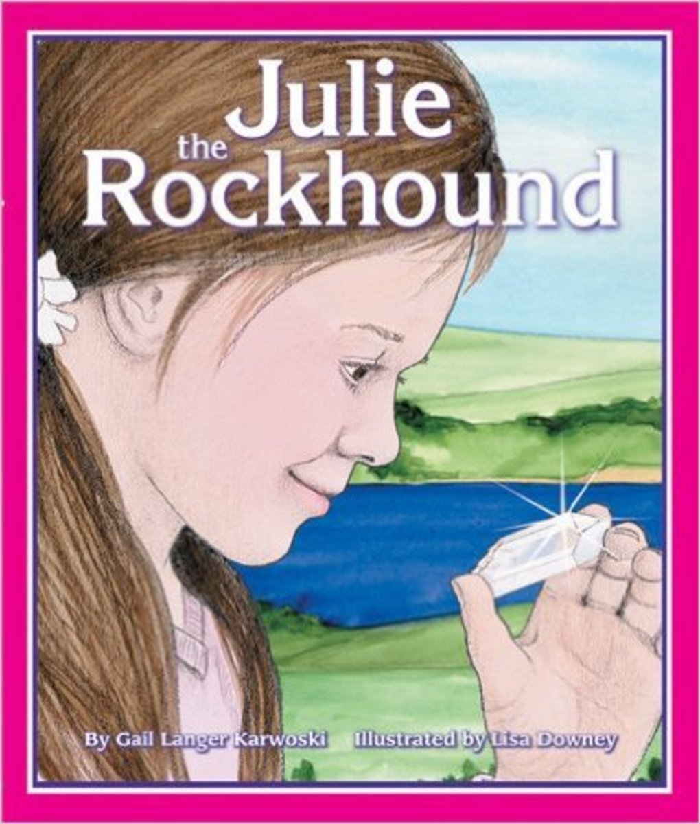 Julie the Rockhound by Gail Langer Karwoski