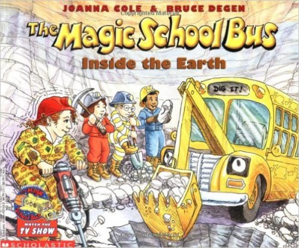 The Magic School Bus Inside the Earth (Magic School Bus) by Joanna Cole