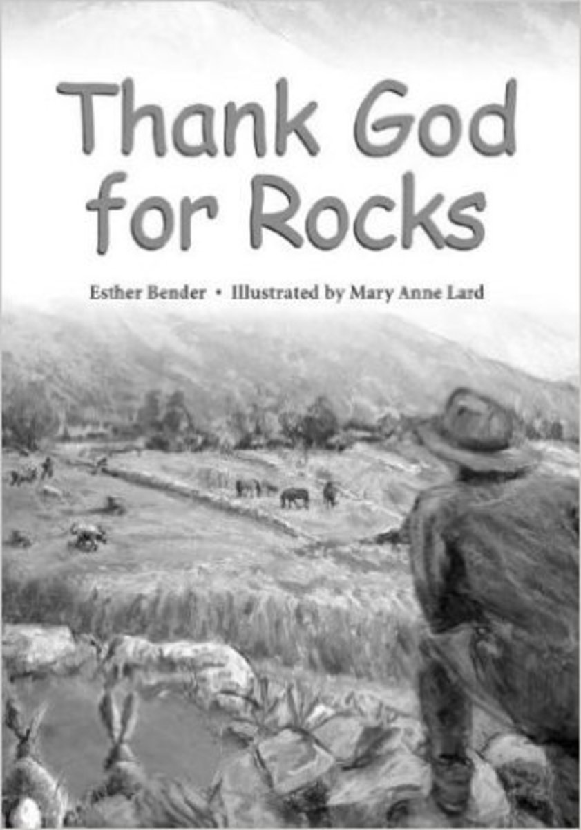 Thank God for Rocks by Esther Bender