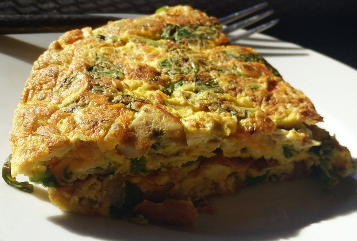 This omelet has the taste of Italy.  You will love it.