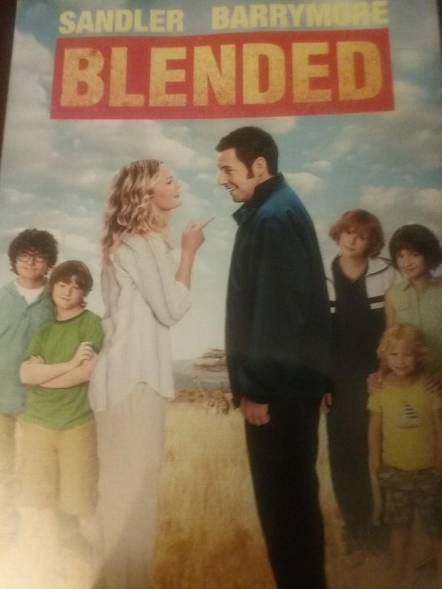Blended the movie DVD cover